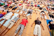 Yoga at Andanças Festival